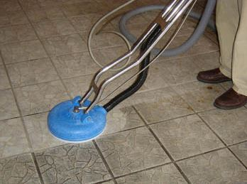 how to use a steam cleaner on tiles